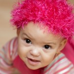 Yep, I put a pink wig on my baby. What of it?